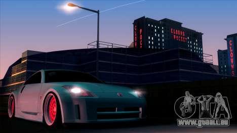 Nissan 350Z Minty Fresh pour GTA San Andreas