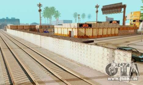 La nouvelle texture de pizzerias et les services pour GTA San Andreas sixième écran