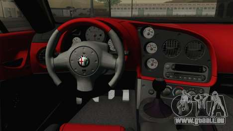 Alfa Romeo Zagato TZ3 2012 pour GTA San Andreas vue arrière