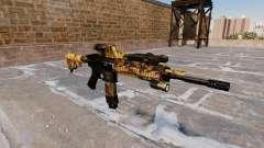 Automatische Gewehr Colt M4A1 Fallen Camos für GTA 4