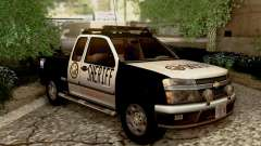 Chevrolet Colorado Sheriff pour GTA San Andreas