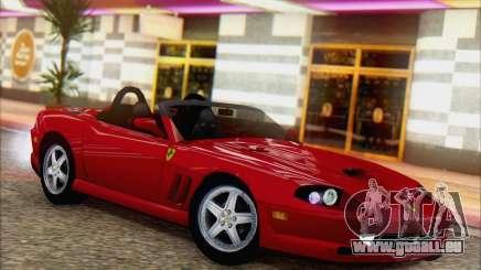 Ferrari 550 Barchetta für GTA San Andreas