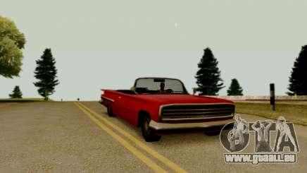Voodoo Cabrio (version ohne Beleuchtung) für GTA San Andreas