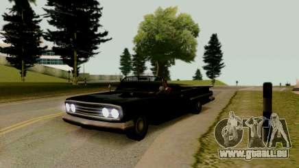 Voodoo Cabrio-version (mit Kurvenlicht) für GTA San Andreas