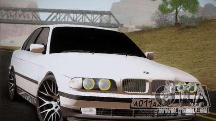 BMW 730d E38 1999 pour GTA San Andreas
