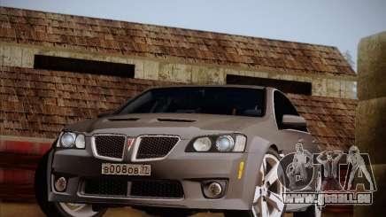 Pontiac G8 GXP 2009 für GTA San Andreas