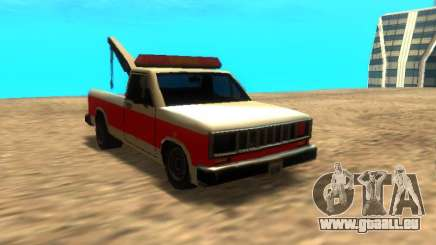 Nouvelle Remorque (Bobcat) pour GTA San Andreas