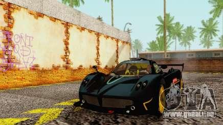 Pagani Zonda Type R Black für GTA San Andreas
