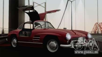 Mercedes-Benz 300SL 1955 pour GTA San Andreas