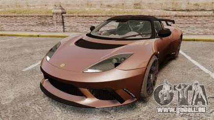 Lotus Evora GTE Mansory pour GTA 4