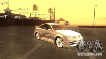 Mercedes CLK 500 из NFS Most Wanted für GTA San Andreas