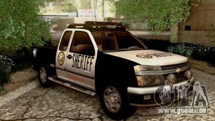 Chevrolet Colorado Sheriff für GTA San Andreas