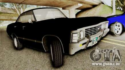 Chevrolet Impala SS 1967 Hardtop Sedan 396 pour GTA San Andreas