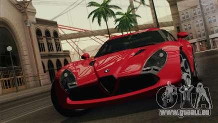 Alfa Romeo Zagato TZ3 2012 für GTA San Andreas