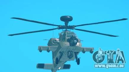 AH-64 Longbow Apache pour GTA San Andreas