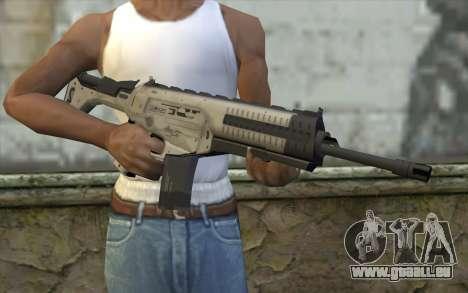 ARX-160 Fusil d'Assaut из COD Fantômes pour GTA San Andreas troisième écran