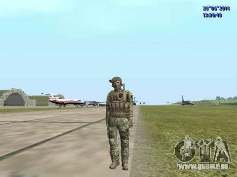 Alfa Antiterroriste A pour GTA San Andreas neuvième écran