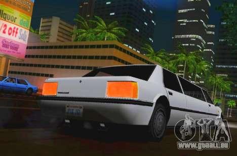 Vincent Limousine für GTA San Andreas zurück linke Ansicht