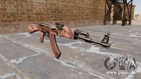 L'AK-47 tigre Rouge pour GTA 4