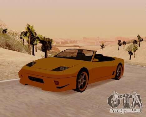Super GT Cabrio für GTA San Andreas