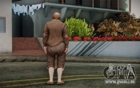Cuire pour GTA San Andreas deuxième écran