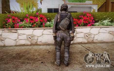 Kick из Call of Duty: Geister für GTA San Andreas zweiten Screenshot