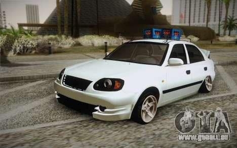 Hyundai Polis TR pour GTA San Andreas