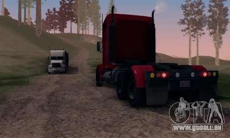 GTA V Packer pour GTA San Andreas vue de côté