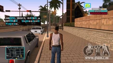 C-HUD Hast pour GTA San Andreas