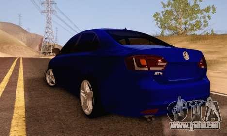 Volkswagen Jetta für GTA San Andreas rechten Ansicht