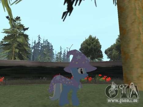 Trixie pour GTA San Andreas deuxième écran