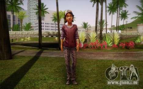 Clémentine из The Walking Dead pour GTA San Andreas