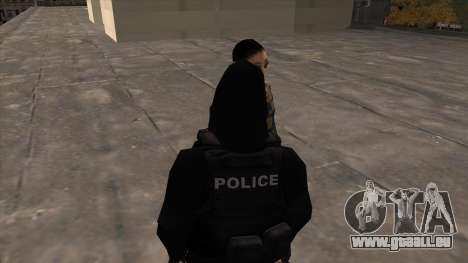 Special Weapons and Tactics Officer Version 4.0 für GTA San Andreas zweiten Screenshot