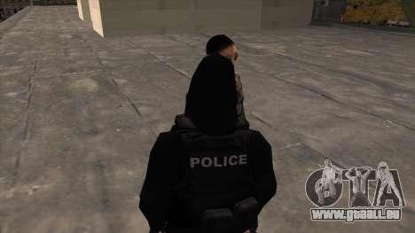 Special Weapons and Tactics Officer Version 4.0 pour GTA San Andreas deuxième écran