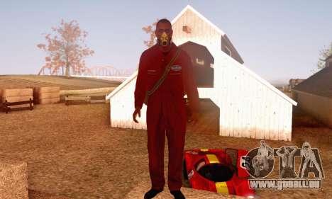 Bug Star Robbery 2 No Cap pour GTA San Andreas troisième écran
