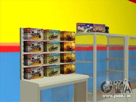 La boutique LEGO pour GTA San Andreas deuxième écran
