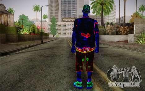 Zero VirusStyle Skin für GTA San Andreas zweiten Screenshot