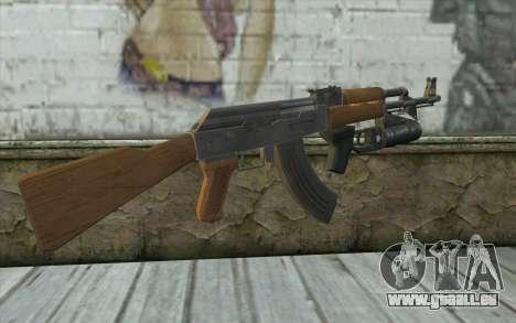 AK47 with GP-25 pour GTA San Andreas deuxième écran