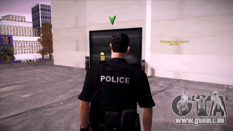 Special Weapons and Tactics Officer Version 4.0 pour GTA San Andreas