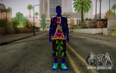 Zero VirusStyle Skin pour GTA San Andreas