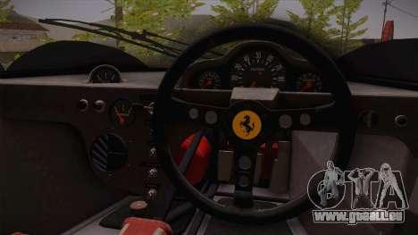Ferrari 330 P4 1967 HQLM pour GTA San Andreas vue de droite