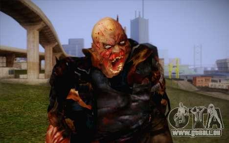 Zombie pour GTA San Andreas troisième écran
