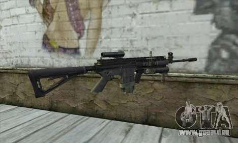 M4A1 из COD Modern Warfare 3 pour GTA San Andreas deuxième écran
