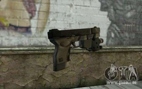 Glock 33 Advance pour GTA San Andreas deuxième écran