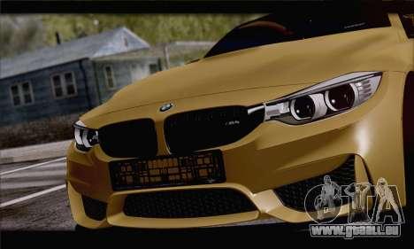 BMW M4 F80 Stanced für GTA San Andreas rechten Ansicht