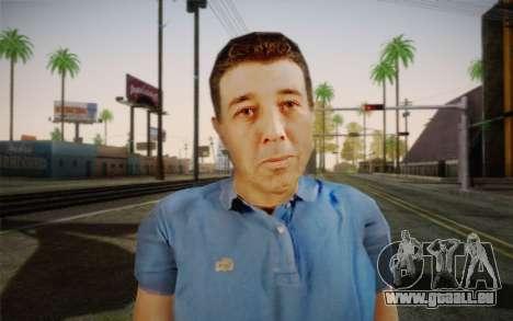 Un homme âgé pour GTA San Andreas troisième écran
