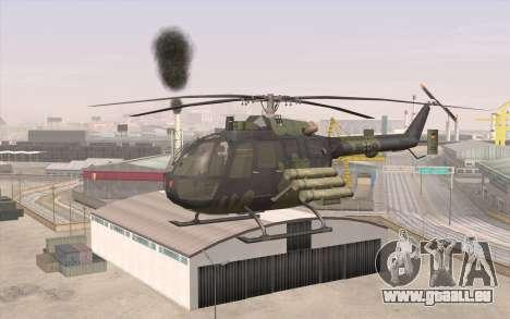 Bo-105 pour GTA San Andreas