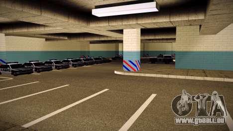 Nouveau garage LSPD pour GTA San Andreas