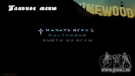 C-HUD Hast pour GTA San Andreas deuxième écran