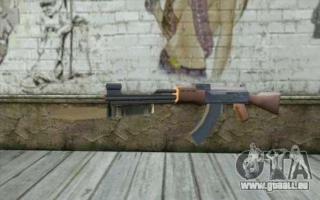 Mit einem Bajonett AK47 für GTA San Andreas